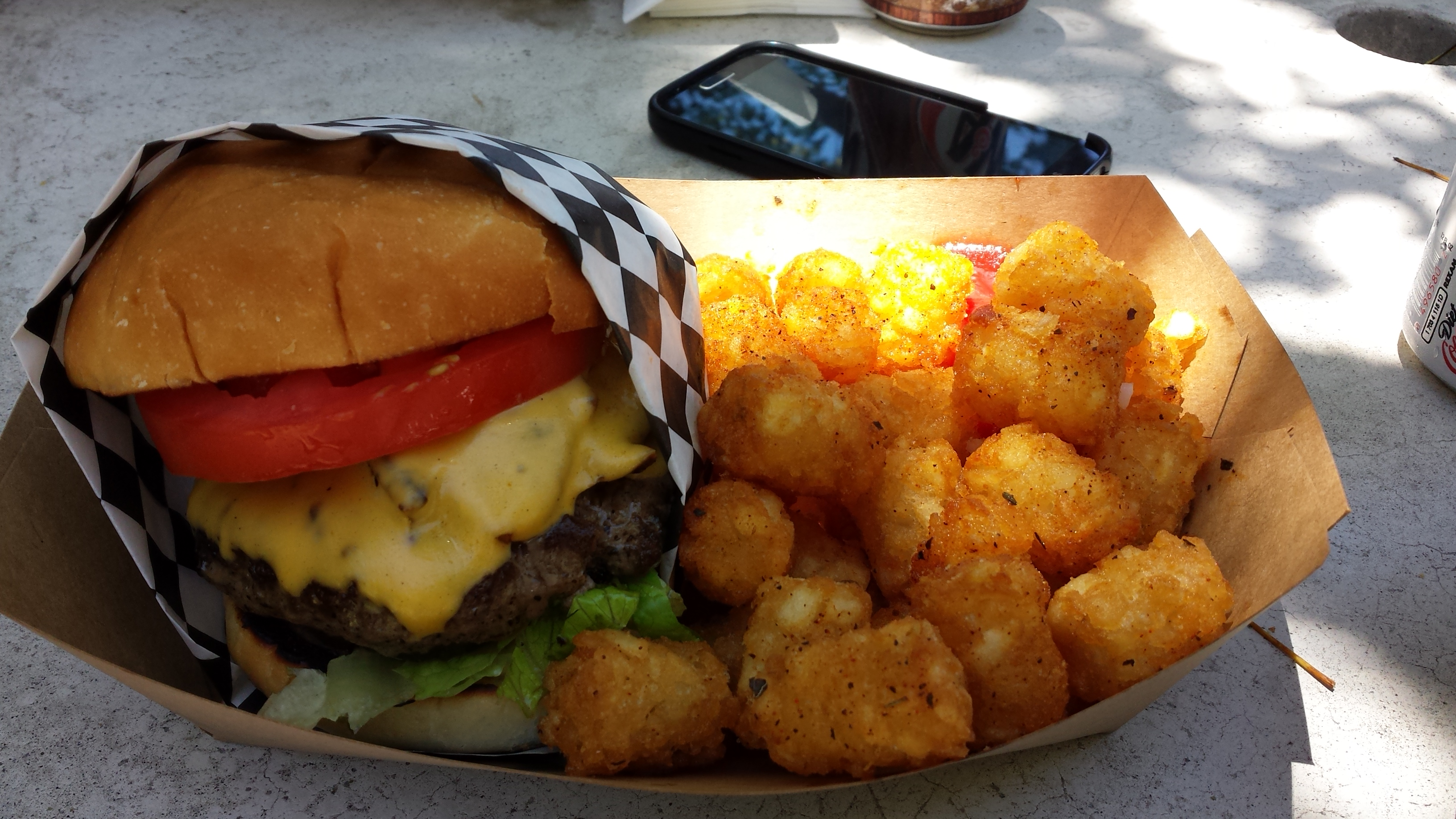 San Diego Burger Club Went To Stuffed Burgers Food Truck On June 11 The Location Of Changes Daily And You Have Go Their Website