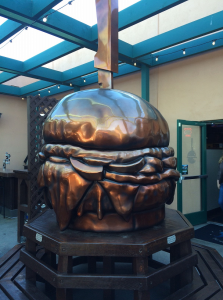Slaters Burger Statue (1-6-2015)
