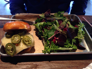 Draft Republic Hotter Than Hell Burger (3-2-2015)