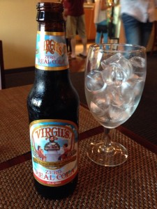Craft Burger Virgil's Zero Real Cola (6-23-2015)
