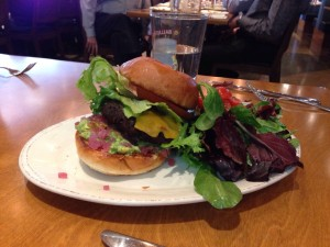 Ballast Point Super Freekeh Veggie Burger (2-10-2016)