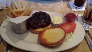 Cheesecake Factory Classic Burger (4-19-2016)